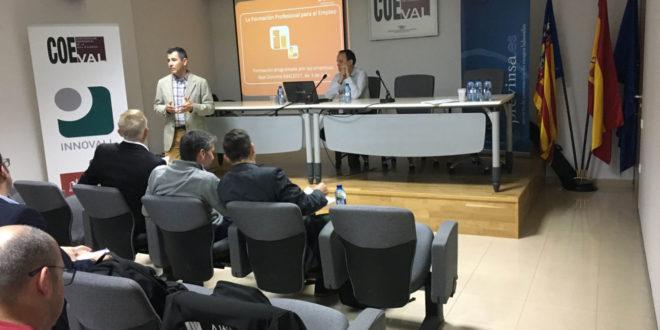 Coeval, Previnsa i Fundae presenten a Ontinyent les novetats de la formació programada per les empreses