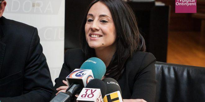 """Rebeca Torró: """"els 20'5 milions per al tren corroboren que Ontinyent i La Vall d'Albaida estan per fi al mapa de les inversions"""""""