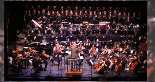 Ple absolut dels multitudinaris concerts de jazz simfònic de l'Orquestra Caixa Ontinyent