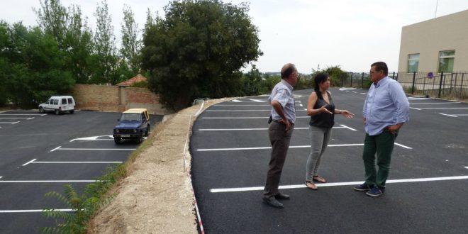 """Comença l'asfaltament de pàrkings votat pels veïns a """"Ontinyent Participa"""""""