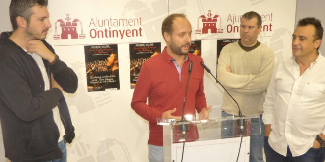 """Andreu Valor i la banda simfònica """"Tot per la Música"""" en concert el 12 de novembre"""