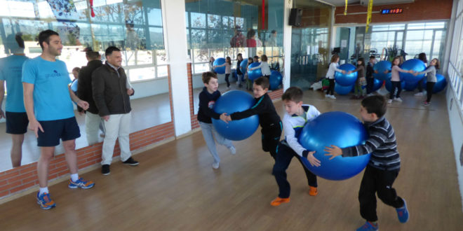 80 xiquets participen a escola de nadal a la piscina coberta tv digital ontinyent - Piscina coberta ontinyent ...