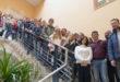 22 alumnes alemanys són rebuts per l'alcalde d'Ontinyent