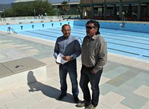 Pepe Pla a la piscina d'Ontinyent