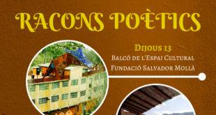Segon sopar del cicle Racons Poètics del Casal Jaume I a Otos