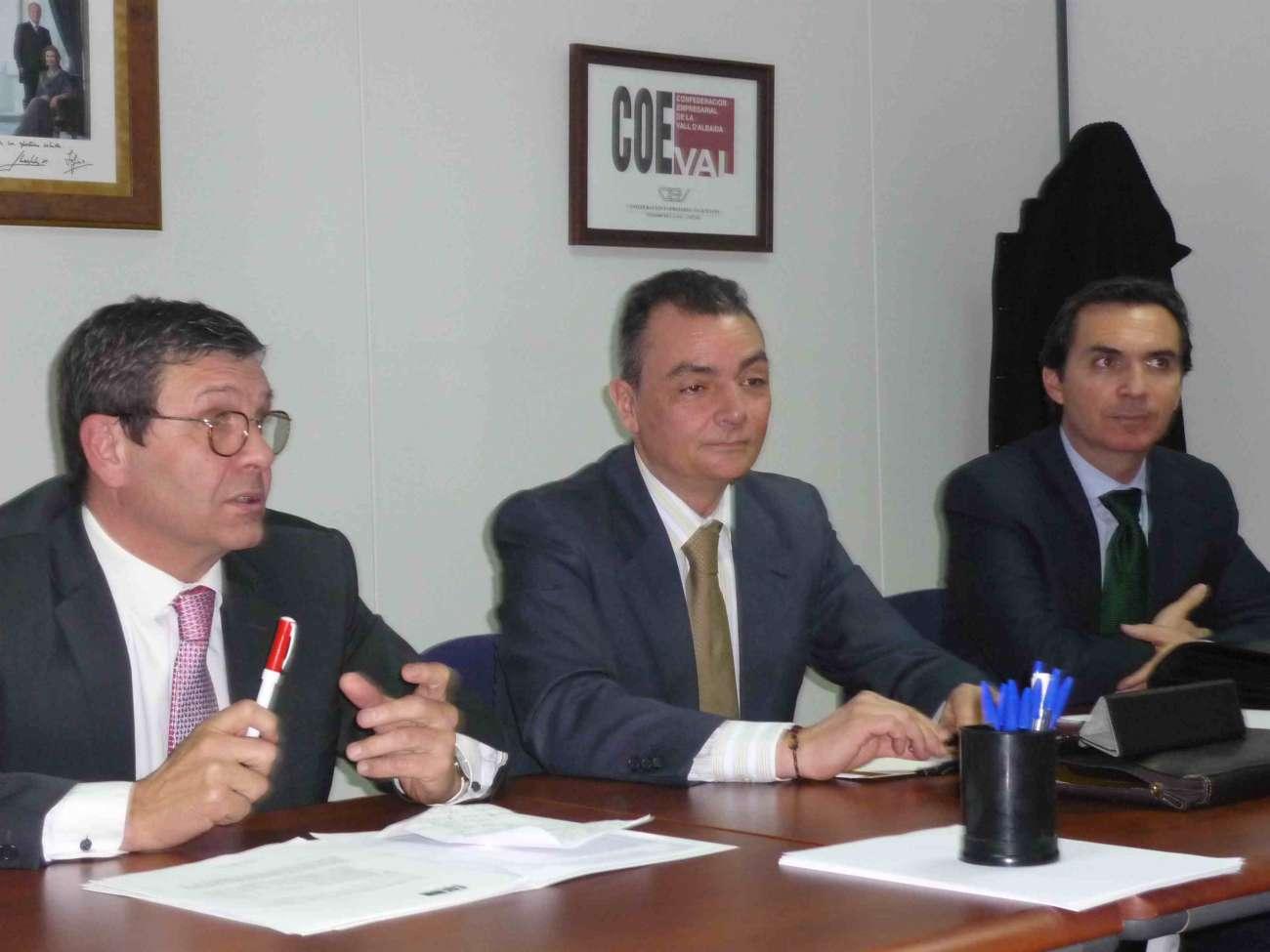 El presidente de la Confederación Empresarial Valenciana inicia las reuniones con COEVAL