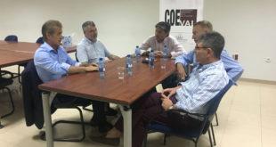 Els empresaris de la Vall i la Safor reivindiquen la finalització de l'autovia del Morquí a la Generalitat
