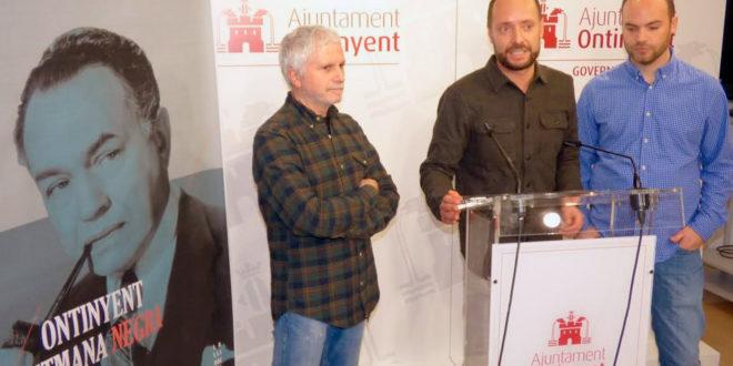 Ontinyent presenta la seua III Setmana dedicada al cinema i novel·la negra