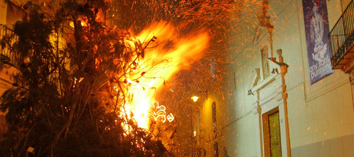La festivitat de Sant Antoni d'Ontinyent, declarades d'interés turístic Local
