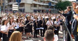 36 bandes i 1.200 músics en la XXVII Diada Musical de la Vall d'Albaida a Ontinyent