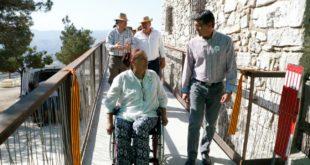 L'Ermita de Sant Esteve d'Ontinyent estrena el seu nou accés adaptat