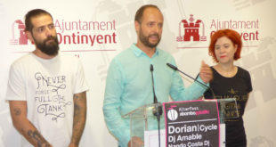 """Els grups Dorian i Cycle i els deejays Amable i Nando Costa al festival """"AlterFest"""" d'Ontinyent"""