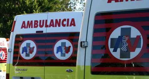 Tres vehicles implicats en un accident al Camí de la Baronia d'Ontinyent