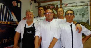 Els embotits tradicionals d'Ontinyent a la Fira Gastronòmica de l'Alcúdia