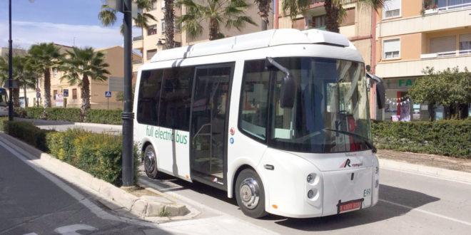 Generalitat subvenciona amb 112.000 euros l'adquisició del nou bus elèctric d'Ontinyent