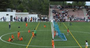 Millores al camp de futbol d'Atzeneta d'Albaida amb l'ajuda de la Diputació