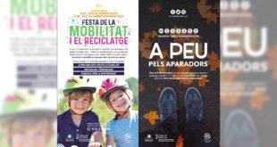 """Premis i """"ecodiners"""" per fomentar la mobilitat sostenible i el reciclatge a Ontinyent"""