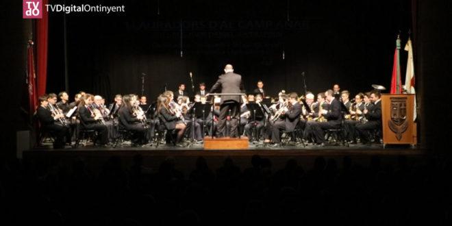 El concert del Mig Any Fester d'Ontinyent estrena 3 peces dels càrrecs del 2018