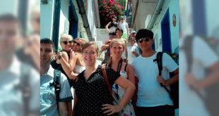 """Turistes de 27 nacionalitats participen al """"València Summer Day"""" en el qual es troben Ontinyent i Bocairent"""