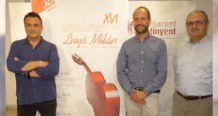 El XVI Certamen Luys Milán s'obrirà amb la xiqueta virtuosa del violí Jennifer Panebianco