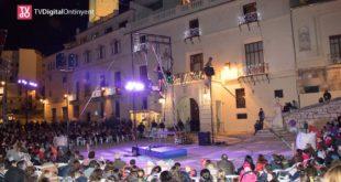 Dilluns i dimarts, programa doble per a arrancar el V Festival de Circ i Teatre d'Ontinyent