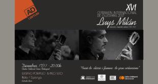 Concert de Luciano Pompilio i Paco Seco dins el Certamen Luys Milán