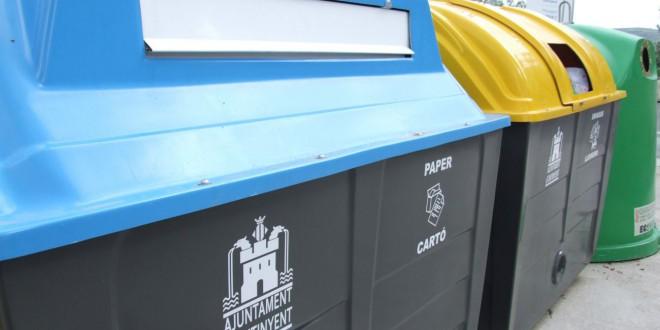 Ontinyent, per segon any consecutiu, la ciutat que més recicla
