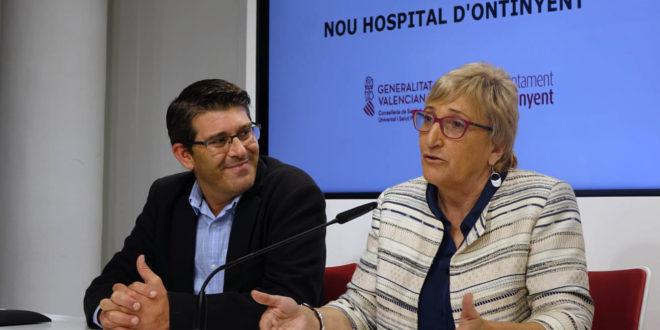 La Consellera de Sanitat anuncia que les obres del nou Hospital d'Ontinyent es licitaran en novembre