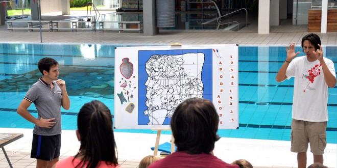La piscina coberta d ontiyent acull una activitat d for Piscina coberta ontinyent