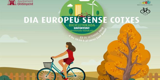 Bicicletukada per celebrar el Dia Europeu Sense Automòbil