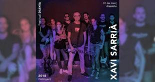 Xavi Sarrià, primera confirmació del Festival Diània 2018