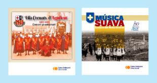 Obra Social de Caixa Ontinyent edita dos discos de música festera