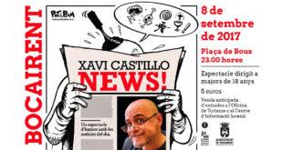 Xavi Castillo tanca les programacions d'estiu de Bocairent