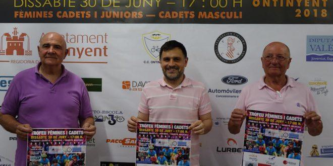 Els dies 23 i 30 de juny Ontinyent acull un triangular d'handbol i el Trofeu Fèmines i Cadets de ciclisme