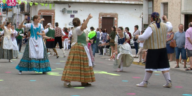 Montaverner acull la XLII Festa de les Danses de la Vall d'Albaida