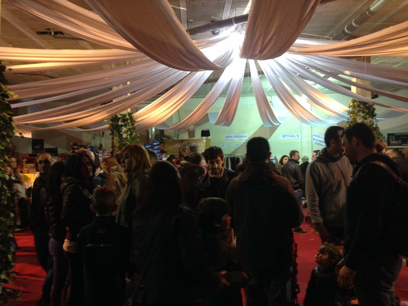 Més de 5.000 persones visiten la Fira Outlet de Comerç IN