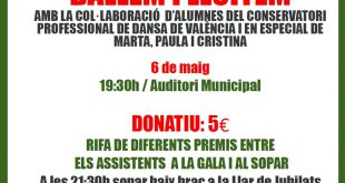 gala benefica agullent cancer