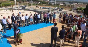 Nova glorieta per millorar la circulació en l'accés a Guadasséquies