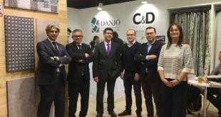 Rodríguez destaca a Frankfurt la importància del sector tèxtil d'Ontinyent