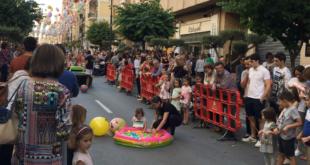 """""""Ontinyent al Carrer"""" reuneix centenars de visitants amb una """"Iberian Race"""" infantil"""