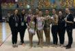El Club deportivo Ontinyent gimnasia rítmica Tercer classificat en la final d' Iberdrola