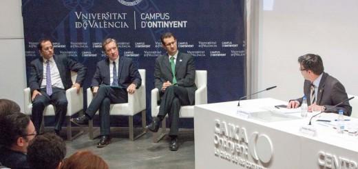 Jorge Rodríguez amb Iñaki Gabilondo a Ontinyent