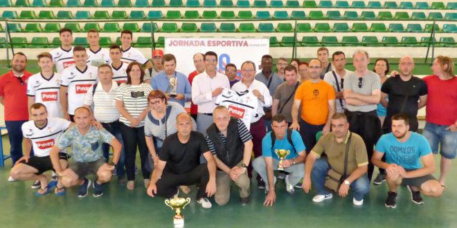 200 persones de nou centres de malalts mentals participen en la jornada esportiva d 39 adiem tv - Piscina coberta ontinyent ...