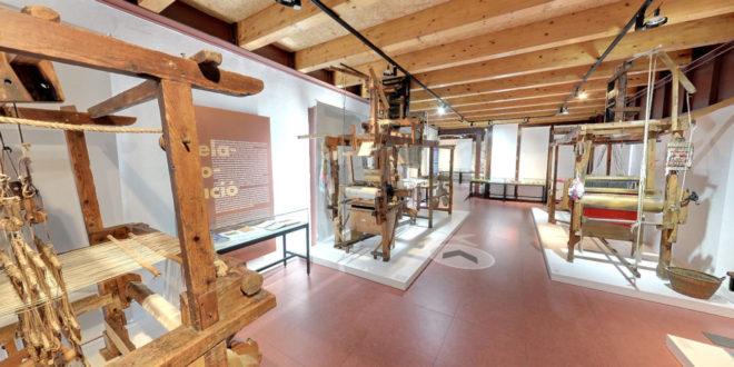 Més de 100.000 visites virtuals al Museu del Tèxtil