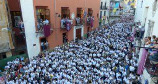 Joan Jesús Barberá dirigeix més de 1.000 músics en l'Entrada de Bandes d'Ontinyent