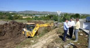 S'inicien les obres que invertiran 1 milió d'euros en modernitzar el polígon El Pla d'Ontinyent
