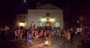 La Nit de les Fogueretes d'Agullent, reconeguda com a festa d'Interés Turístic Provincial