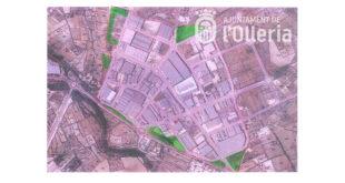 En marxa diferents obres de millora del Polígon del Carrascot de l'Olleria