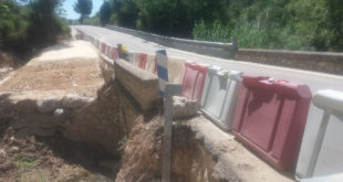 Diputació inicia les obres de millora dels ponts de la CV-655 d'Ontinyent a Fontanars