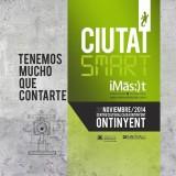 Poster la ciudad smart Ontinyent